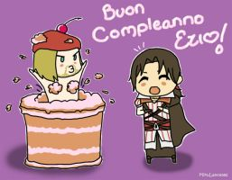 Happy Birthday Ezio! by MikuLance382