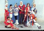 Soul Calibur 2, group picture by fairyTinga