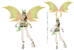 Eon : Leafeon Sophix by Inspi-Designs