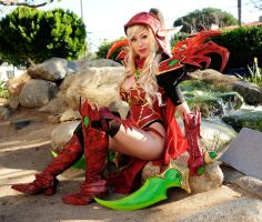 Valeera Sanguinar BlizzCon Cosplay G4 by ApotheosisCosplay