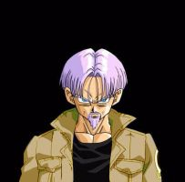 MUGEN AF menu Future Trunks by pgv