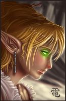 Blood Elf DigiSketch 003 by StriderDen