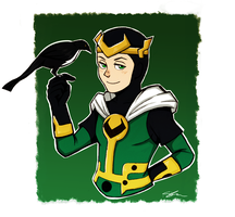 Kid Loki and Ikol by SuppieChan