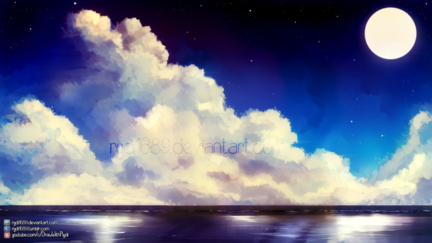 Premade Landscape Background for your art by rydi1689