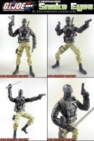 Custom Commando Snake Eyes by KyleRobinsonCustoms