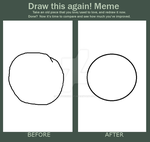 draw this again meme: this is art by northernmost