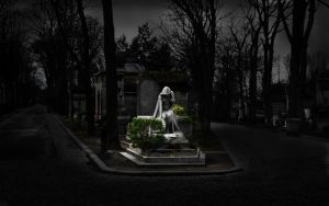 Montmartre Cemetery by FletchLives