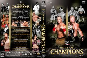 WWE Night of Champions 2014 DVD Cover V2 by Chirantha