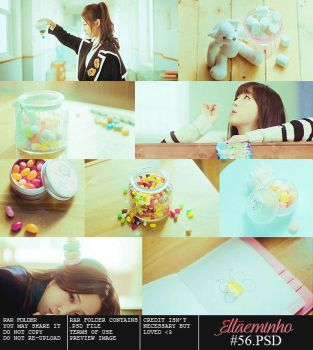 PSD 56 - Candy Jelly Love By Ettaeminho by myungtae