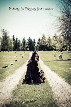 Goth Doll 1 by ashleylawphotography