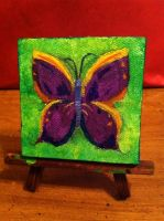 Butterfly Canvas Mini by Alaniers