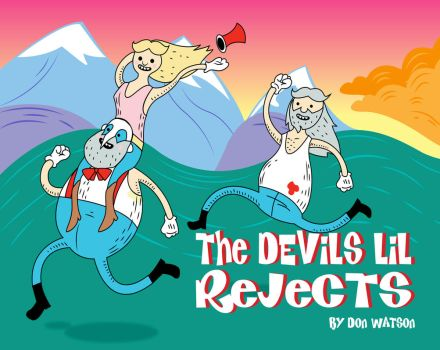The Devils Lil' Rejects - Childrens Book Cover by watsondonald