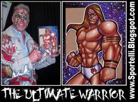 The ULTIMATE WARRIOR by George Sportelli by sportelli