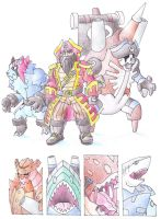 Elite Four Bartholomew by darksilvania