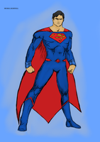 DC Rebirth Superman by Michael-McDonnell