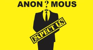 anonymous expect us - yellow background by LCERancientArt