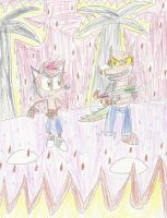 Burning Bandicoot Battle by mastergamer20
