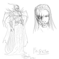 Frigate-RP character of evilness by Destinyfall