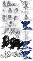 Luna/Lucy Concepts by Assassin-or-Shadow