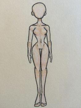 Cartoonish body anatomy by Amber-Sunset
