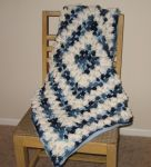 Winter Camouflage Baby Blanket by Hermioneann