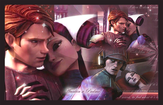 Anakin and Padme by LaraStrong