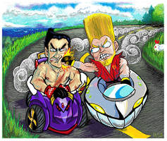 Tekken Cart Racing by Olsie