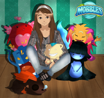 I with mobbles by vikuxa9