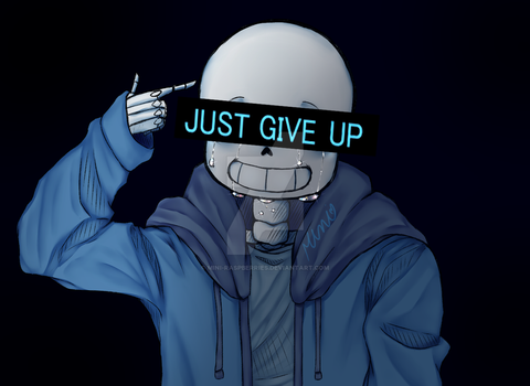 Just Give Up, Alright? by Mini-Naturi