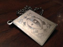 Persona 4 card necklace by Batmansss