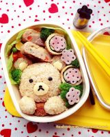 Rilakkuma Lunch box by loveewa