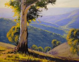 Summer Hills by artsaus