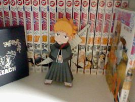 Ichigo Papercraft by PrincessStacie