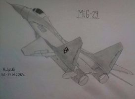 MiG-29 by Ralph1989