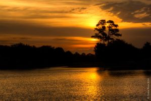 Sunrise over the Lake by BettyBoopRox