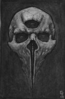 Skull III by Fagertveit