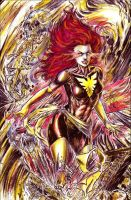 Dark Phoenix by brokenluk
