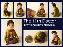 The 11th Doctor - Gift by Bittythings