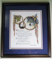 Cross-stitch Animal Spirits by Pegasi1978