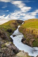 Fardagafoss, Iceland by Nightline
