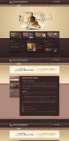 qi shi website by sense983