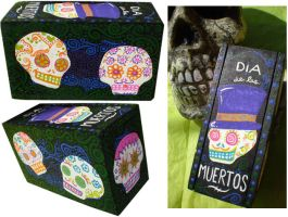Calaveras Coffin by Myrcury-Art
