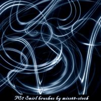 Swirl Brushes by miss69-stock
