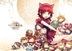 [LOL] Annie cover was finished~! by beanbean1988