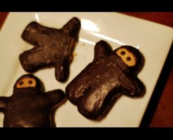 Gingerbread Ninjas by steven--t
