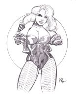 Black Canary by MichaelPowellArt