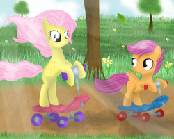 Request- Scooter Buddies! by ChanceyB