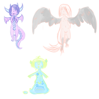Random adopts. - ONE LEFT by IHeartOctopus