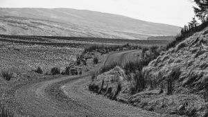 Small road - Glens of Antrim by UdoChristmann