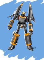 Gunbuster for Daily Sketch Challenge by RJN16